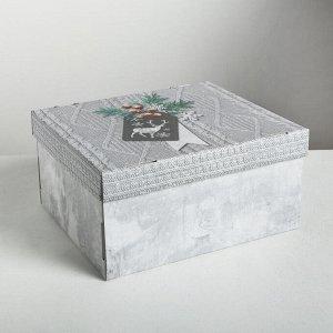 Складная коробка «Уютные мгновения», 31,2 ? 25,6 ? 16,1 см