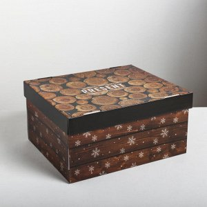 Складная коробка Present, 31,2 ? 25,6 ? 16,1 см