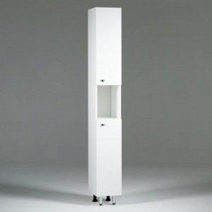 Пенал Вега 2400 белый, 24 х 30 х 181 см