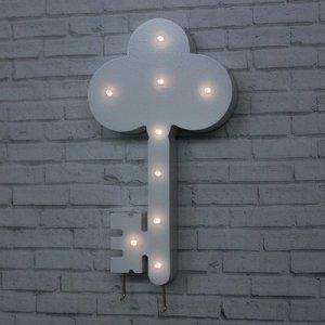 Ключница со светом «Ключик», 25x 14 см