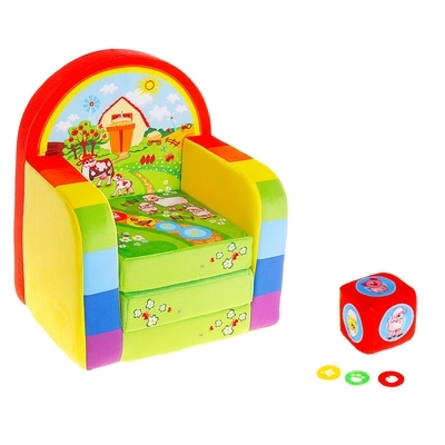 Товары для Любимцев. Уход, Содержание,Игрушки, Лакомства.    — Детские кресла — Игровая мебель