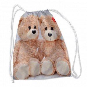 Сумка-рюкзак Плюшевые мишки
