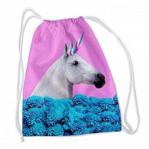 Сумка-рюкзак Гламурный единорог