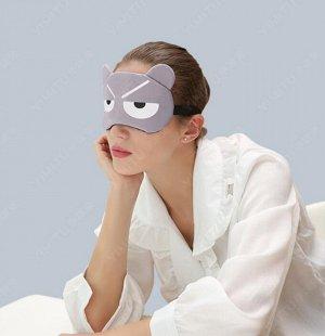 Маска для сна с охлаждающим гелиевым вкладышем