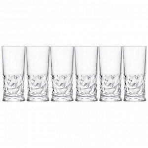 """Набор стаканов для воды из 6 шт. """"funky"""" 350 мл. высота=15,5 см."""