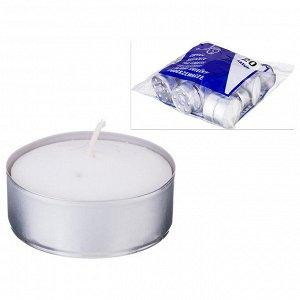 Набор свечей из 20 шт. 6*6*2 см.