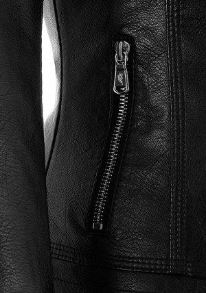 Куртка из PU-кожи LM-66