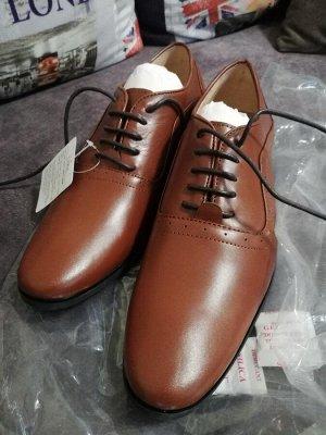 Туфли мужские кожаные ДЕШЕВЛЕ СП