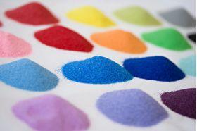 Набор цветного песка 1000 гр.
