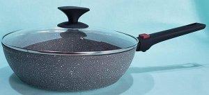 Сковорода Wok с мраморным дизайном