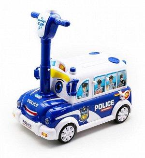 Каталка Полицейская машина музыкальная
