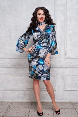 Платье Бархатная ночь П517-1