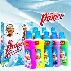 Мойдодыр. Лучший ассортимент бытовой химии — Mr PROPER — Для мытья полов