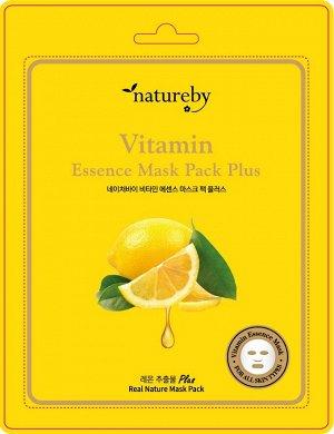 Премиальная маска для лица Vitamin Essence Mask Pack Plus