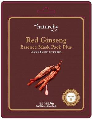 Премиальная маска для лица Red Ginseng Essence Mask Pack Plus