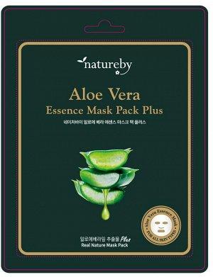 Премиальная маска для лица Aloe Vera Essence Mask Pack Plus