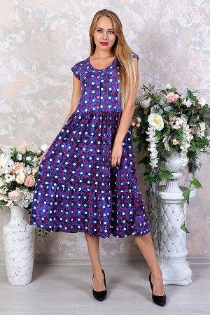 Женское платье Стефани-Г (Горошек)
