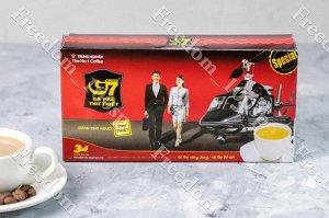 Растворимый кофе G7 TrungNguyen 3 в 1, 21 пак
