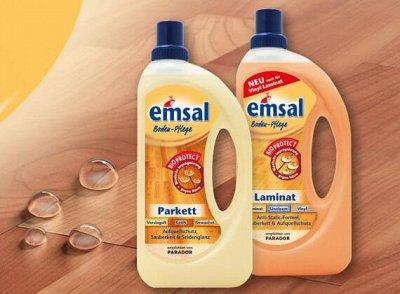 Чистота в доме! UNICUM, FROSCH и EMSAL — Emsal — чистящие средства для пола, ковров и мягкой мебели