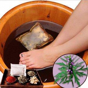 Травяные ванночки для ножек с пустырником, 1 шт (10 гр)