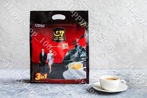 Раствoримый кoфе G7  3 в 1, 50 пакетиков