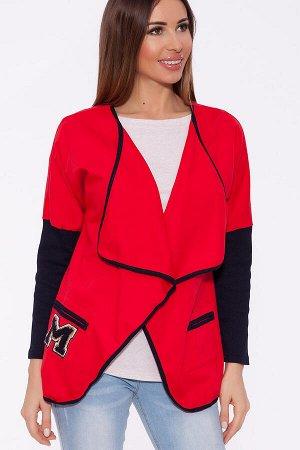 #61705 Кардиган Красный