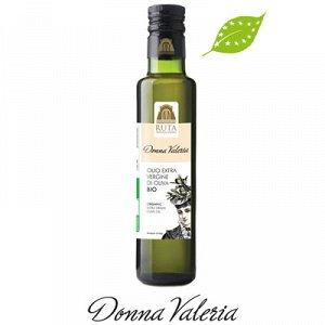 """""""DON CICCIO"""" оливковое масло первого холодного прессования """"DONNA VALERIA"""" BIO 500 мл( ст/б)"""