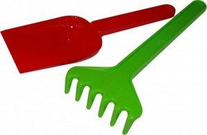 Набор №1: лопатка, грабельки