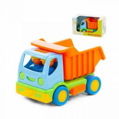 Полесье. Игрушки из лучшего пластика! Беларусь — Мой первый грузовик — Машины, железные дороги