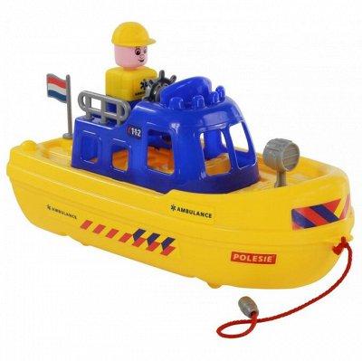 Полесье. Любимые игрушки из пластика. Успеем до повышения — Кораблики — Машины, железные дороги