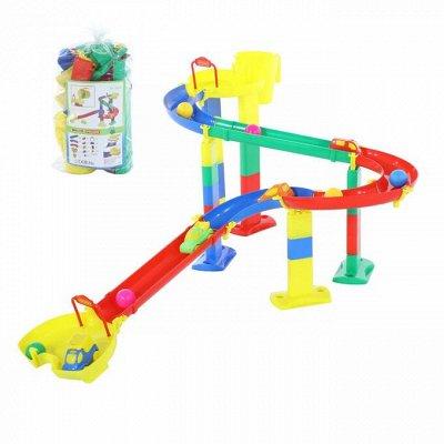 Полесье. Любимые игрушки из пластика. Успеем до повышения — Горка для шариков — Спортивные игры
