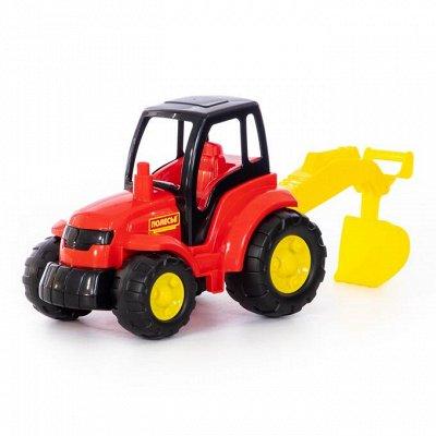 Полесье. Игрушки из лучшего пластика! Беларусь — Трактор — Машины, железные дороги