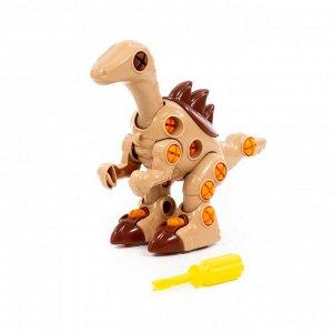 """Конструктор-динозавр """"Велоцираптор"""""""