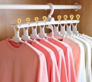Плечики для одежды. Цвета в ассортименте белый, розовый