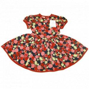 Платье 7028/3 (шарики)