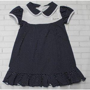 Платье 724/46 (мелкий горошек)