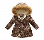 Куртка утепленная детская для девочек