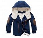 Куртка утепленная детская универсальная с капюшоном