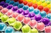 """Набор силиконовых форм для выпечки """"Рифленые розочки"""", 8 шт"""