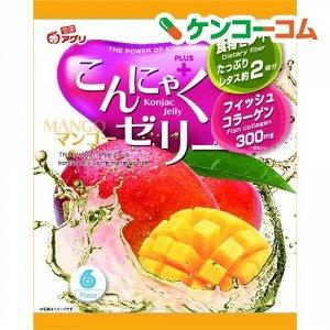 """Желе """"Yukiguni Aguri"""" порционное Конняку со вкусом манго (6шт х18г), 108г, 1/12"""