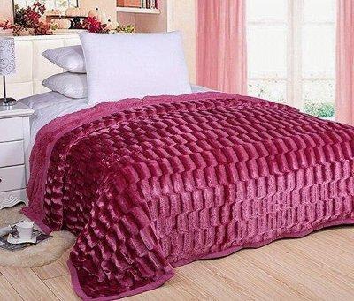 """🌃Сладкий сон! Постельное белье,Подушки, Одеяла 💫 — Пушистый плед """"Норка"""" — Пледы и покрывала"""
