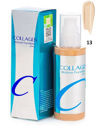Enough Collagen Moisture Foundation SPF Тональный Крем c Коллагеном и Гиалуроновой кислотой № 13 светло-бежевый 100 мл