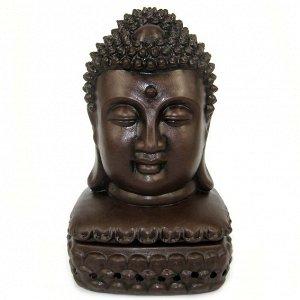 Подставка под благовония Будда 16см керамика