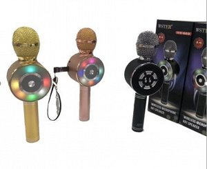 Беспроводной караоке Bluetooth микрофон WS-669 .