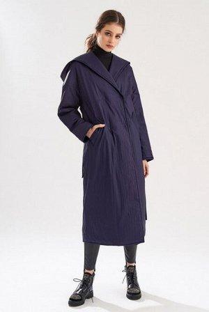 Пальто Стоило 6630 руб.Женское двубортное пальто из плащевой ткани «крэш» с водоотталкивающей пропиткой. В качестве утеплителя применен ISOSOFT, теплый и легкий как пух, после сжатия быстро восстанавл