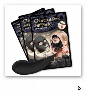SkinAplle Peel off pack Charcoal Маска-пленка Древесный уголь 1 шт. *7гр.