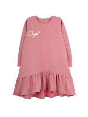 Платье 872А8 темно-розовый