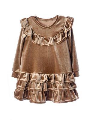 Платье 937А1 бронзовый