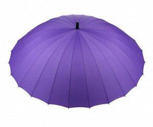 Зонт трость. Цвет фиолетовый.