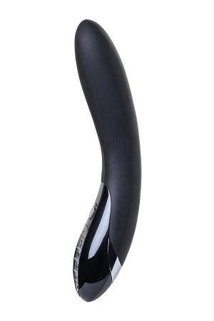 Вибратор Mystim Electric Eric  силиконовый с электростимуляцией, чёрный, 27 см